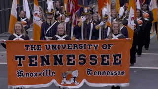 Pride Of The Southland Plays In Inaugural Parade