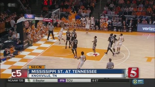 Tennessee Trounces Mississippi State 91-74