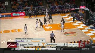 Tennessee Beats Kansas State 70-58