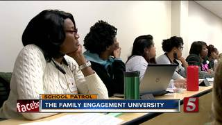 School Patrol: Family Engagement University