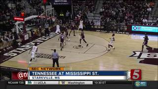 Mississippi St. Rallies, Beats Tennessee 64-59