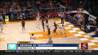 Georgia Rallies To 76-75 Victory Over Tennessee