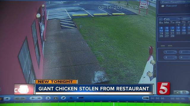 Giant Chicken Stolen From Portland Business