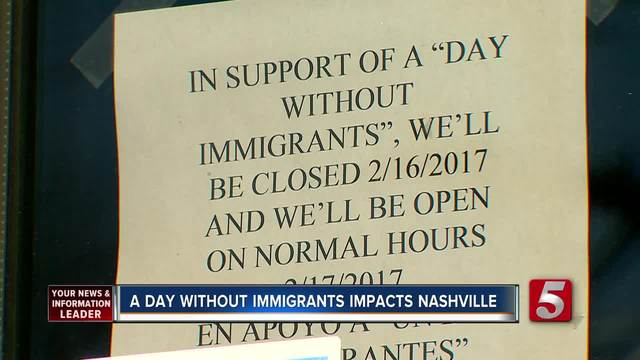 -A Day Without Immigrants- Protests In Nashville