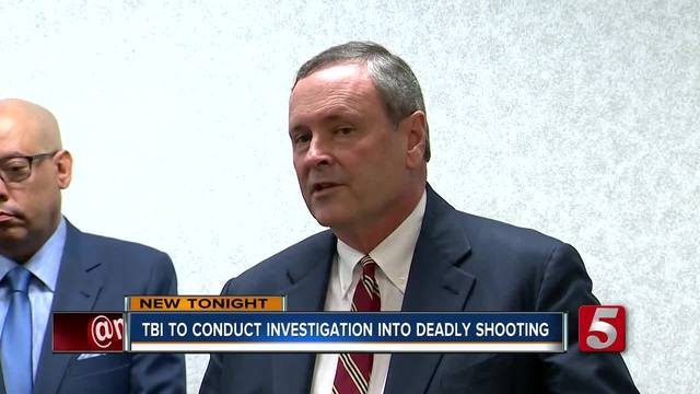 TBI Takes Over Fatal Officer-Involved Shooting In Nashville