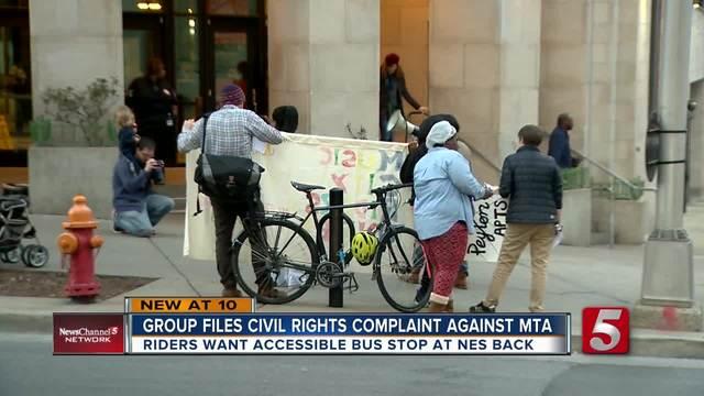 Group Files Civil Rights Complaint Against MTA