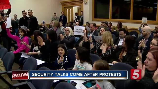 Security Increase Discussed At Legislative Plaza