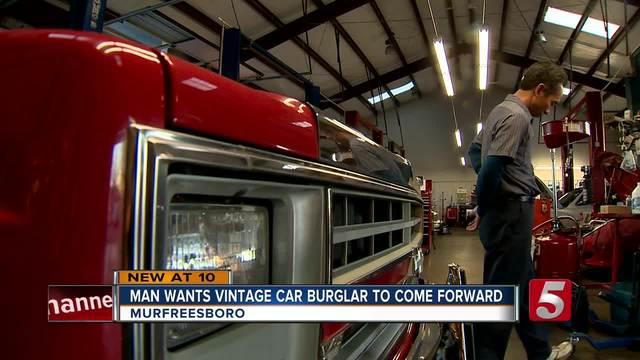 Beloved- Vintage Truck Vandalized