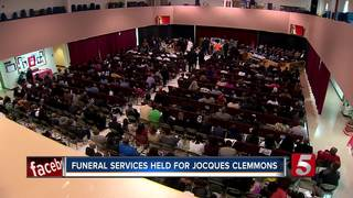 Funeral Service Held For Jocques Clemmons