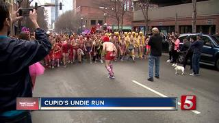 Runners Hit The Street In Undies For