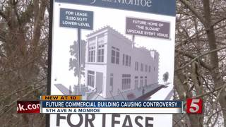 Future Commercial Building Causing Controversy