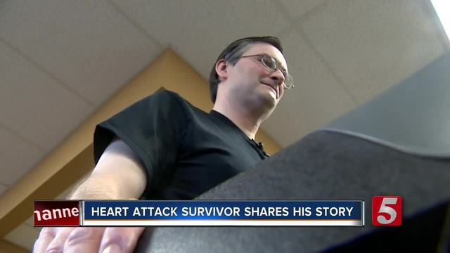 Heart Attack Survivor Shares His Story