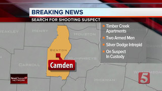 1 Jailed, Another At Large In Camden Shooting