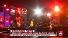 Hazmat Called To I-40W After Semi Crash