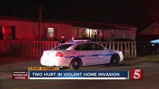 Sledgehammer Used In Home Invasion, 2 Injured