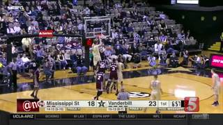 Vanderbilt Beats Mississippi State 77-48