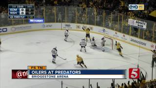Forsberg, Neal Lead Predators Over Oilers 5-4