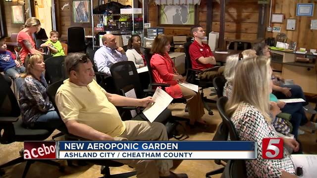Aeroponic Garden Coming To Cheatham County