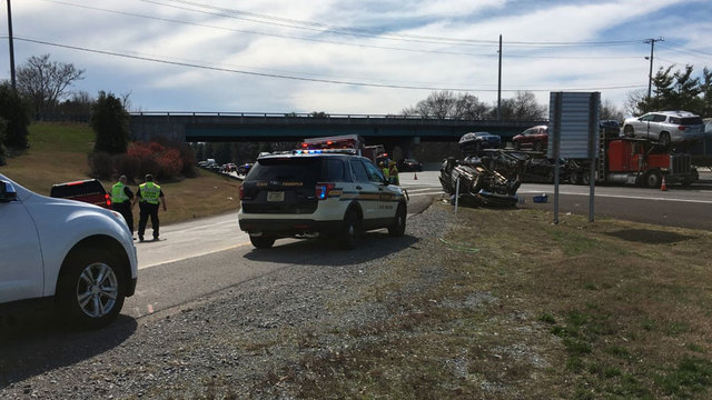 1 Killed In Rollover Crash On I-65N In Brentwood
