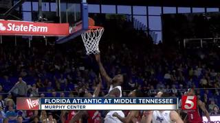 Potts Scores Career-High 30, MTSU Cruises