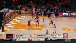 Tennessee Erases 16-Point Deficit To Beat Alabam