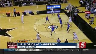 Vanderbilt Rallies, Upsets No. 12 Florida 73-71