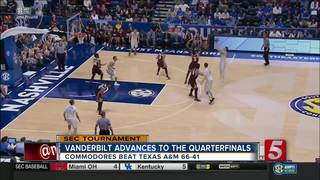 Defense Propels Vandy In Win Over Texas A&M