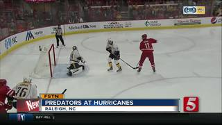 Skinner Scores 2 To Lead Hurricanes Past Preds