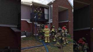 Murfreesboro Apartment Fire Displaces 2 Families