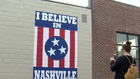 'I Believe In Nashville' Mural Restored