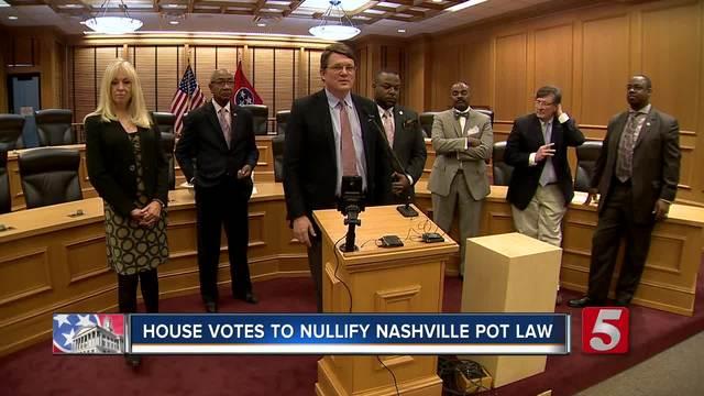 House Passes Bill That Blocks Marijuana Decriminalization