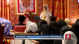 Memorial Service Held For Murdered Market Owner
