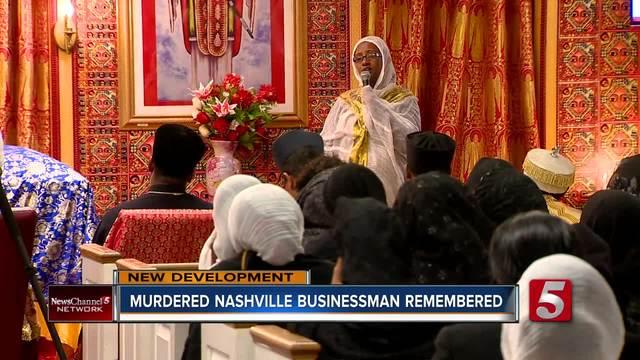 Memorial Service Held For Murdered Market- Restaurant Owner