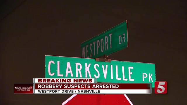 Police Stop Armed Robbery In Progress In North Nashville