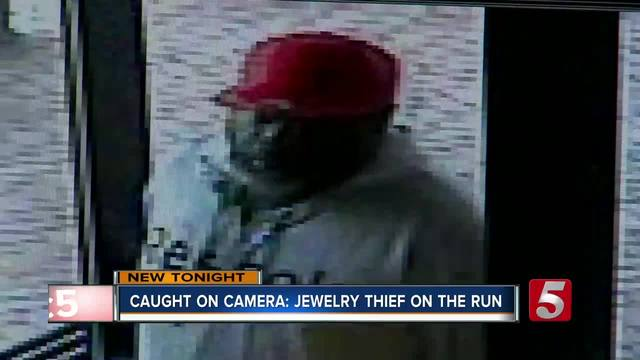 Murfreesboro Jewelry Store Robbery Caught On Camera