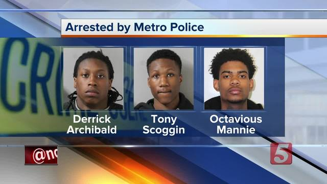 3 Arrested- Tried To Rob 88-Year-Old At Gunpoint