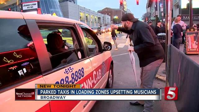 Parked Vehicles In Loading Zones Upset Downtown Musicians