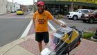 Man Runs Cross Country For Charity