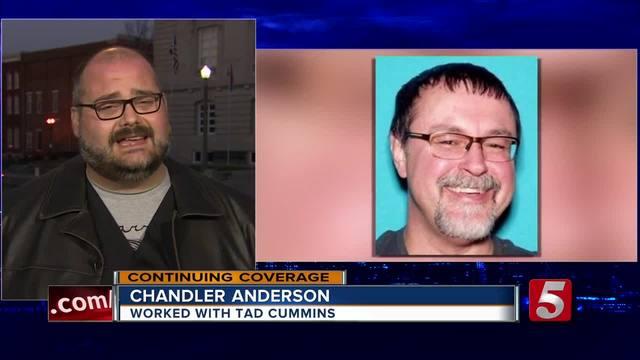 Coworkers Of Tad Cummins Offer Reward In AMBER ALERT
