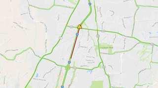 Crash On I-65 Involves Overturned Vehicle