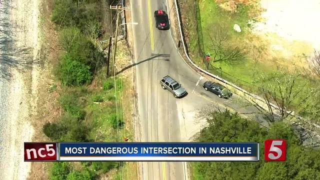 New Study Names Most Dangerous Nashville Intersections