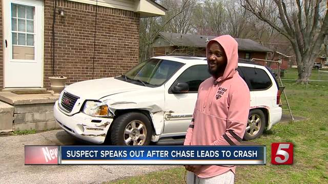 Suspect Speaks Out After Chase With 7-Month-Old