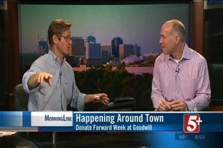 Happening Around Town: Donate Forward Week at...