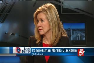 Inside Politics: Congressman Marsha Blackburn