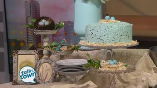 Chef's Market's Robin's Egg Citrus Cake