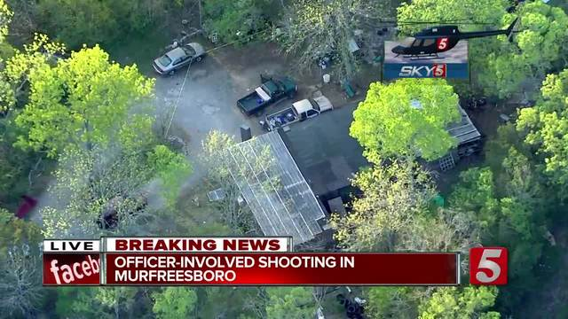 TBI investigating officer-involved shooting in Rutherford County