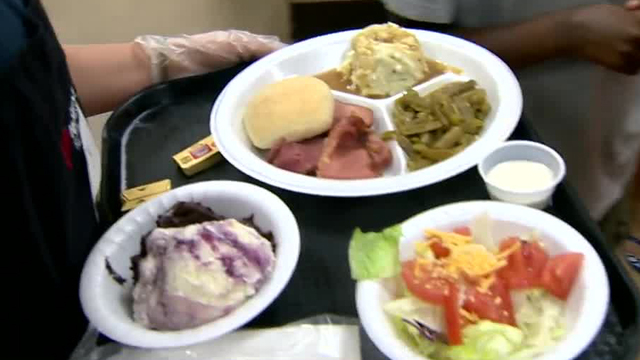 Good Friday meal held at the Mission at Kern County