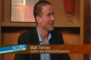 SCORE on Business: Matt Tenney April Show 1