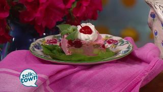 Lynne Tolley's Frozen Cherry Salad