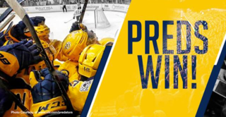 Gold Rushed: Preds Sweep Blackhawks With 4-1 Win